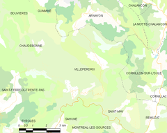 Map commune FR insee code 26376.png