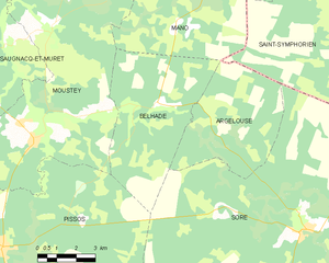 Map commune FR insee code 40032.png