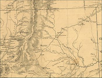 Map northern new mexico 1867