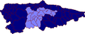 Map of Asturias highlighting Oviedo (comarca).png