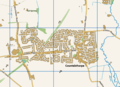 Map of Countesthorpe village.png