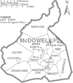 Mcdowell County North Carolina Wikipedia