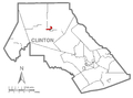Map of Renovo, Clinton County, Pennsylvania Highlighted.png