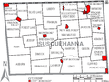 Map of Susquehanna County Pennsylvania With Municipal and Township Labels.png