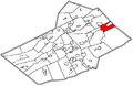 Map of Tamaqua, Schuylkill County, Pennsylvania Highlighted.png