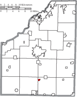 Location of Cygnet in Wood County