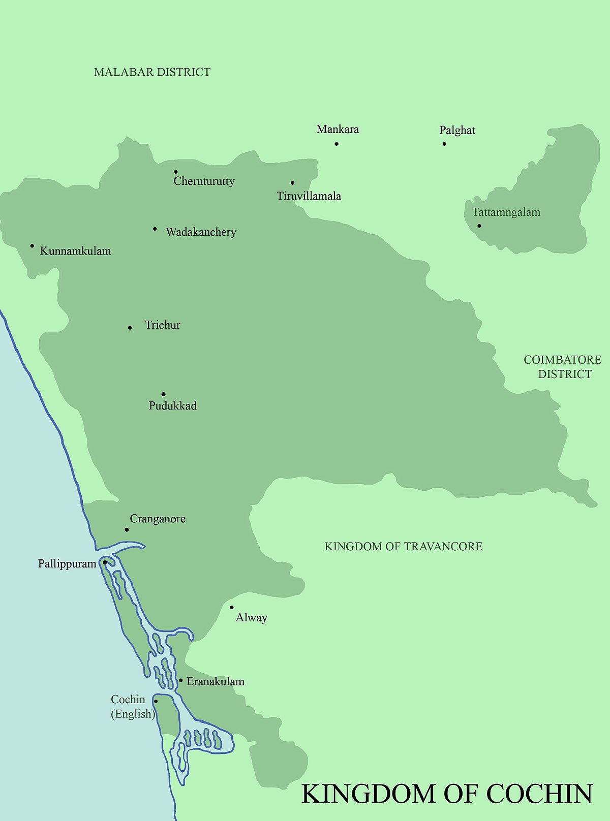 Kingdom of Cochin - Wikipedia