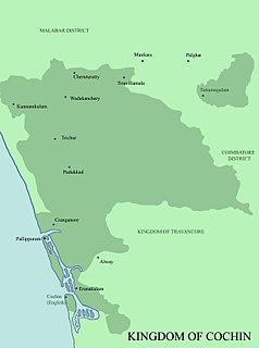 Kingdom of Cochin former country