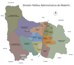 Mapa-Division Politico Administrativa de Medellin.png