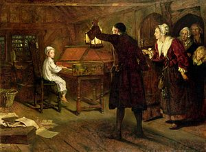 Margaret Isabel Dicksee - Image: Margaret Isabel Dicksee The Child Handel 1893