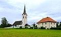Maria Rain Goeltschach Pfarrkirche und Pfarrhof 24062011 100.jpg