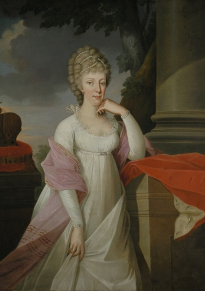 Maria Theresa of Naples and Sicily, Holy Roman Empress