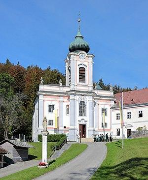 Gutenstein, Austria - Image: Mariahilfberg (Gutenstein) Kirche
