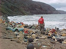 Marine debris on Hawaiian coast.jpg