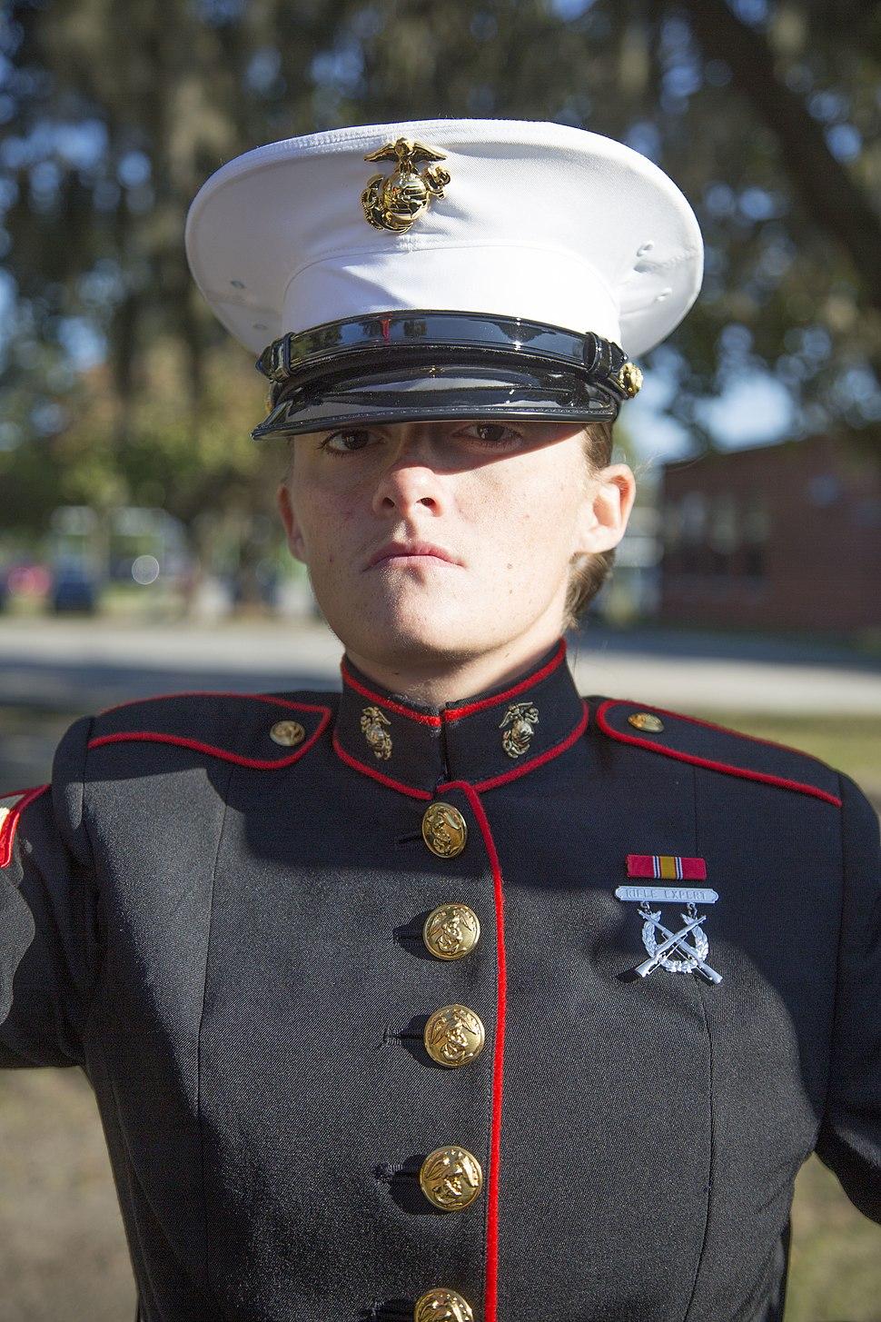 Marine dress blues
