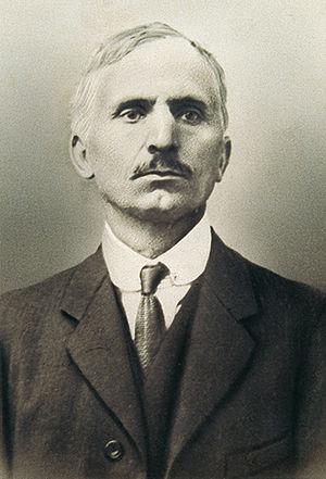 Marius Borgeaud - Marius Borgeaud in Paris, 1919