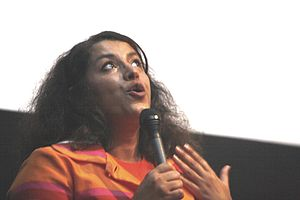 Marjane Satrapi - Marjane Satrapi at the premiere of Persepolis