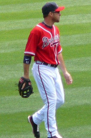 Mark Kotsay - Kotsay with the Braves in 2008.