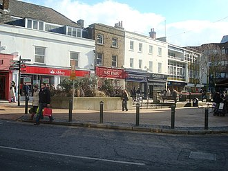 Bromley - Image: Market Square, Bromley geograph.org.uk 1162719