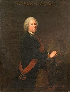 Margrave Albert Frederick of Brandenburg-Schwedt - Image: Markgraf Albrecht Friedrich