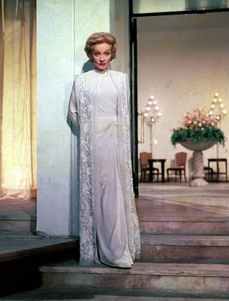 Jean Louis - Gown designed by Jean Louis for Marlene Dietrich in The Monte Carlo Story (1956).