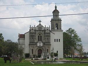 Marrero, Louisiana - St. John Bosco Chapel at Hope Haven, Marrero