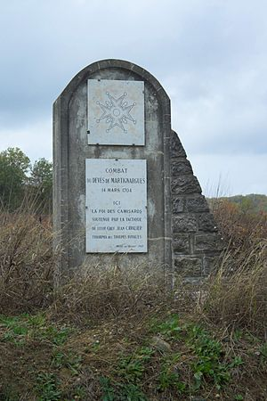 Camisard - Monument at Devès de Martignargues