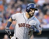 Picture of Houston Astros utility player Marwin Gonzales