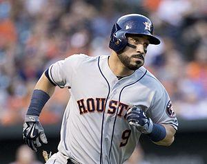 Marwin González - González with the Houston Astros in 2016