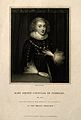 Mary Sidney Herbert, Countess of Pembroke. Stipple engraving Wellcome V0004585.jpg