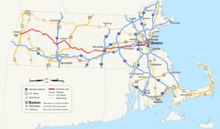 highway in Massachusetts