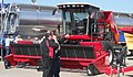 Massey Ferguson 9635 Windrower.JPG