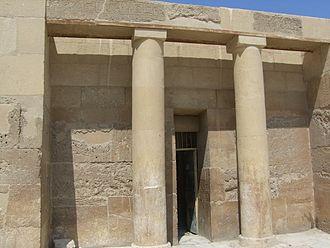 Djedkare Isesi - The large mastaba of Senedjemib Inti, vizier under Djedkare Isesi