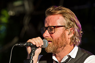 The National (band) - Matt Berninger at Tanzbrunnen, Cologne