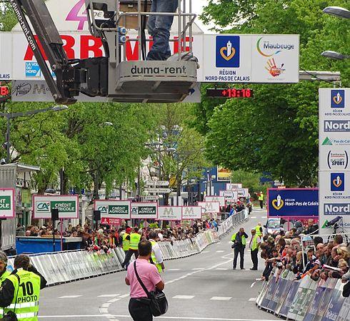Maubeuge - Quatre jours de Dunkerque, étape 2, 7 mai 2015, arrivée (A03).JPG