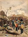 Maurice Leloir - Le Roy Soleil - Louis XIV visitant les tranchées devant Lille.jpg