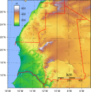 Mauritania Topography.png