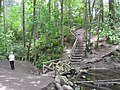 Maxi-Stairs Mini-Bridge of Mystic Vale . READ INFO IN PANORAMIO-COMMENTS - panoramio.jpg