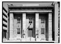 May 1972 WEST (FRONT) ELEVATION - Franklin Institute, 15 South Seventh Street, Philadelphia, Philadelphia County, PA HABS PA,51-PHILA,153-1.tif