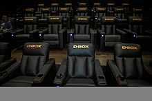 d81ac57679d D-BOX opened its first full auditorium with Maya Cinemas in North Las Vegas  in January 2019.