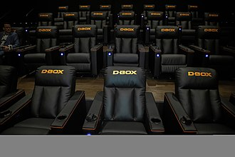 D-Box Technologies - D-BOX opens his 1st full auditorium with Maya Cinemas in North Las Vegas in January 2019.