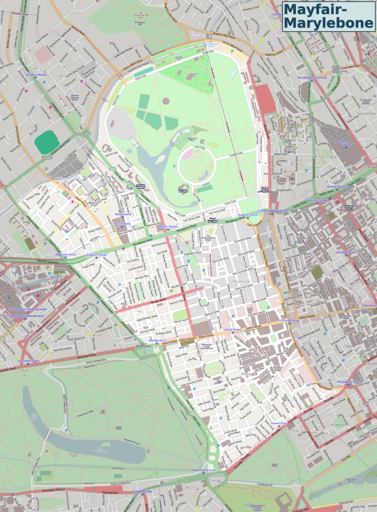 1200px-Mayfair-Marylebone_OSM_map Map Baker Street on mt. baker map, baker ca map, king's cross map, baker fire map, baker oregon map, somerset road map, london map, baker la zip code map, baker mine map, baker library, baker lake map, baker hill map, baker trail map, baker river map, baker school map, baker county road map, kings cross st pancras map, baker house, baker st london, baker park map,