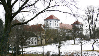 Zimmern Chronicle - The Renaissance castle of Meßkirch where the work was written