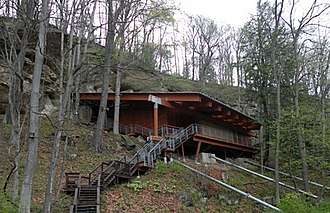 Jefferson Township, Washington County, Pennsylvania - Meadowcroft Rockshelter, one of North America's most significant archaeological sites