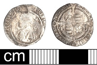 History of the English penny (1485–1603) - Silver penny of Henry VII.