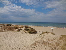 Mediterranean Sea in Oliva, Valencia Region of the Spain 01.JPG