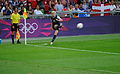 Megan Rapinoe corner kick.jpg