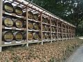 Meiji Shrine Barrels of wine.jpg