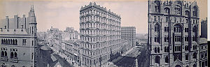 Melbourne City Centre - The Melbourne central business district, 1903
