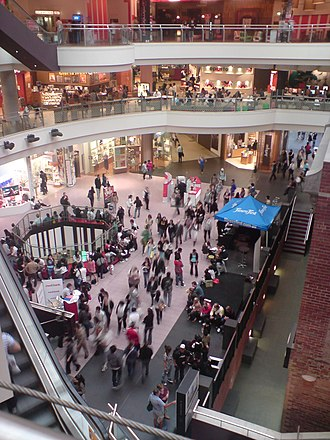 Melbourne Central Shopping Centre - Under the cone
